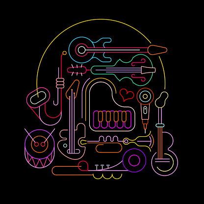 Neon illustration