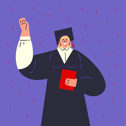 Cartoon character illustration