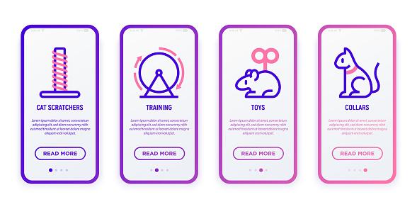 Mobile UI template