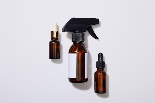 Dispenser bottles of cosmetic