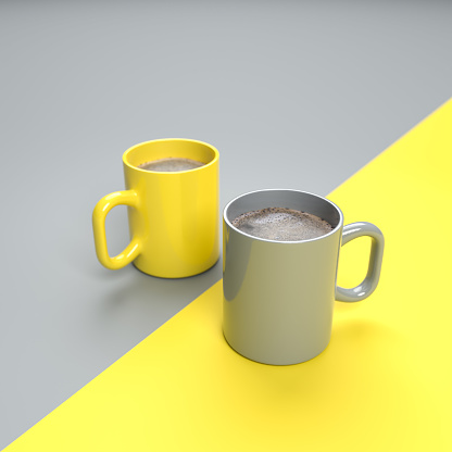 Yellow&Gray Color