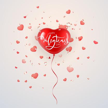 balloon for Valentine's Day