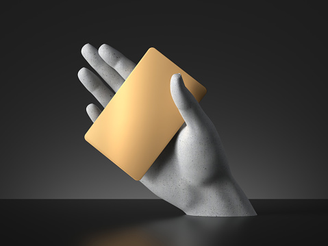Hand 3D render