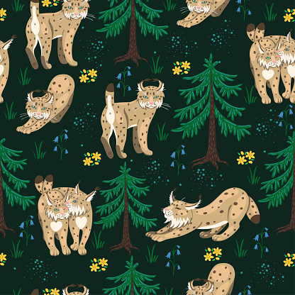 Seamless pattern_animal