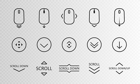 Scroll & Loading icons