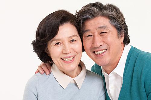 노년 커플