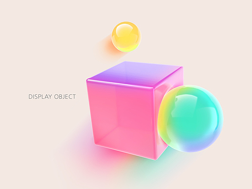 Colorful Object