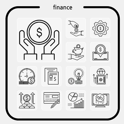 금융 앱 아이콘