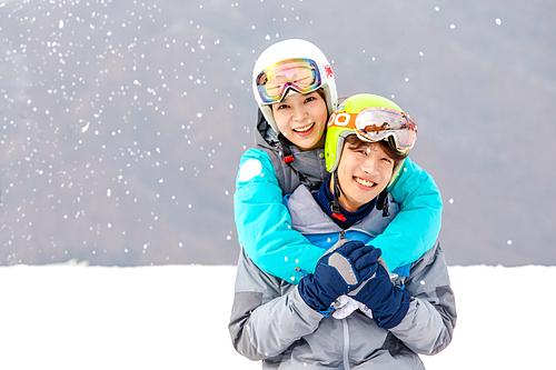 스키장 데이트