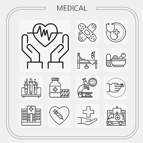 의료 건강 아이콘