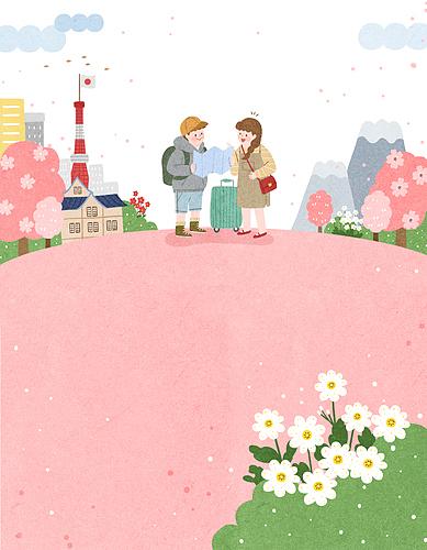 따뜻한 봄날