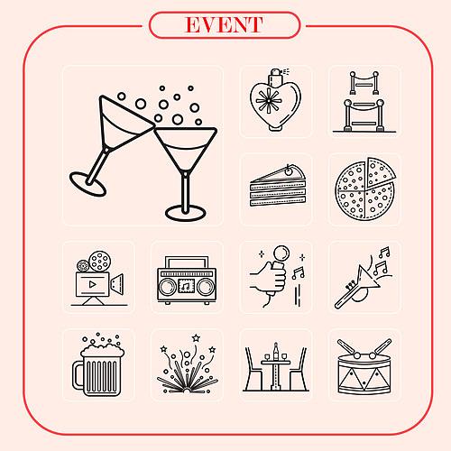 이벤트 파티 아이콘