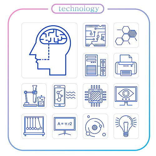 테크놀로지 아이콘