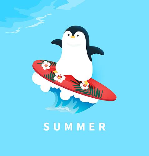 여름 캐릭터 배너