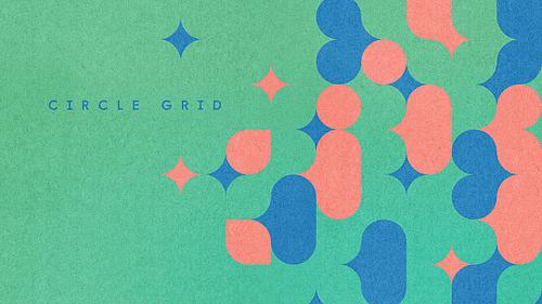 Circle Grid Pattern