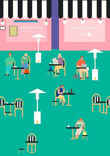 카페와 사람들