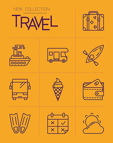 여행 아이콘
