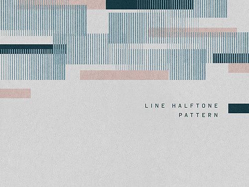 하프톤 패턴