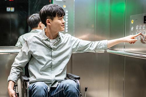 휠체어로 본 세상