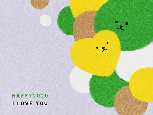 패턴, 백그라운드, 2020년, 부드러움 (컨셉), 사랑 (컨셉)