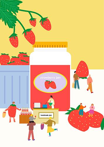 제철과일 딸기