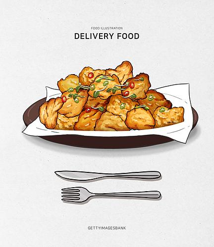 배달 음식 시리즈