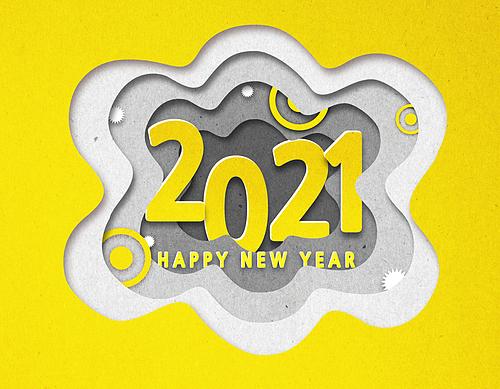 페이퍼아트, 2021년, 새해 (홀리데이), 팝업, 연례행사 (사건), 상업이벤트 (사건), 프레임