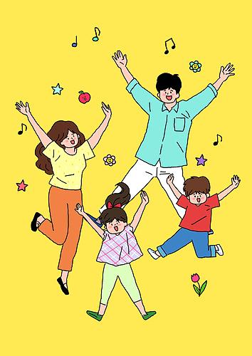 어린이날 (홀리데이), 연례행사 (사건), 기념일, 어린이 (나이), 밝은표정, 가족, 부모