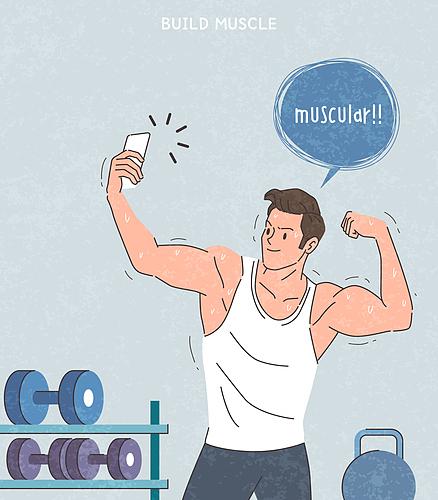 근육을 키우자