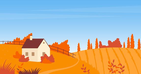 시골 가을 풍경