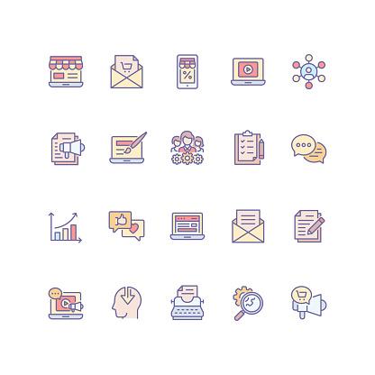 마케팅 아이콘