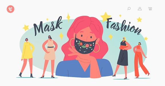 패션 마스크