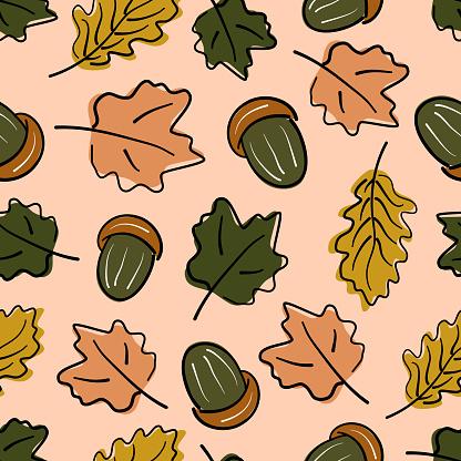 가을 패턴