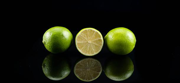 과일 블랙 백그라운드