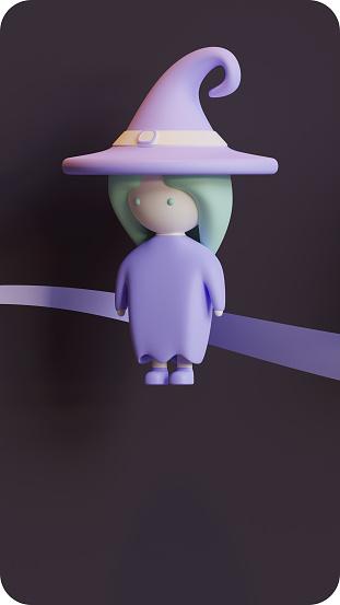 Halloween 3d Character