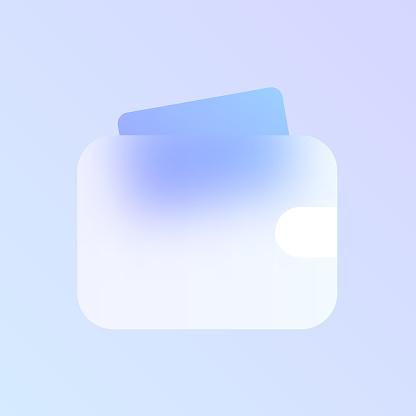 투명 유리 아이콘