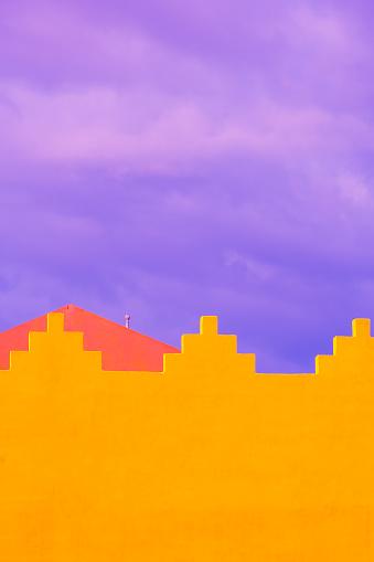 비비드 트로피컬 풍경