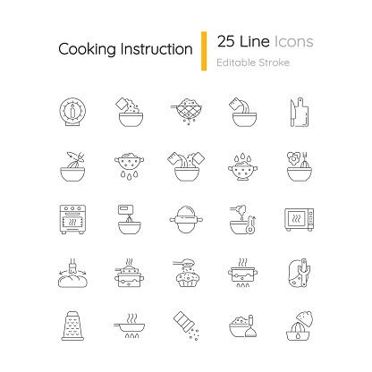 요리 도구 아이콘
