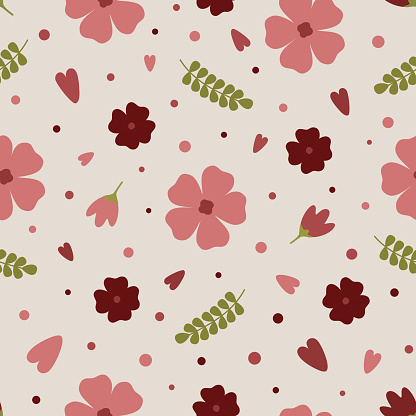 핑크 꽃 패턴 모음