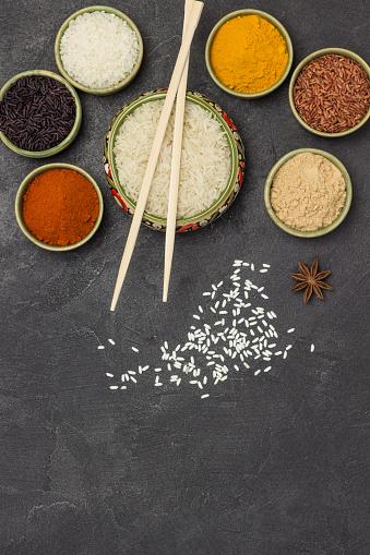 잡곡 쌀 연출컷