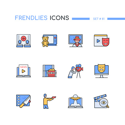 modern design icons set