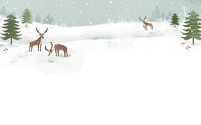 겨울 백그라운드