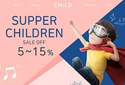 어린이 웹템플릿