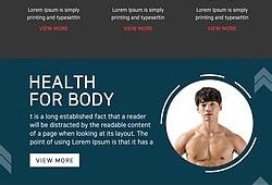 건강 웹템플릿