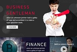 웹템플릿_금융 비즈니스