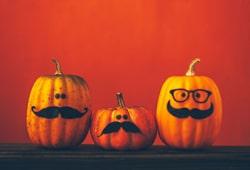 해외사진_Halloween pumpkins