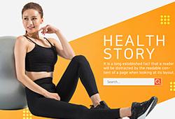 웹템플릿_건강