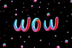 해외사진_Word neon line
