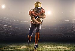 해외사진_American football player