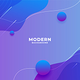 Gradient modern background